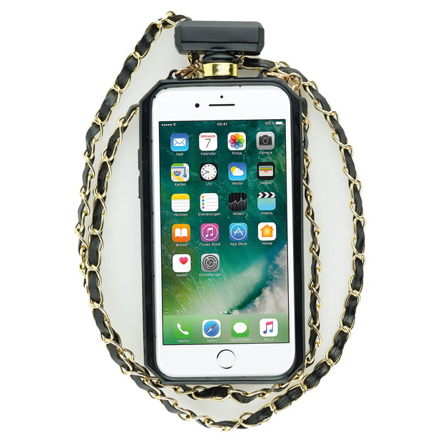 Handmade Bling Bottle Black Iphone 7/8 - Bling Cases.com