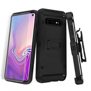Holster Combo Black Samsung S10 Plus - Bling Cases.com