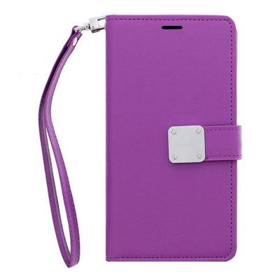 Wallet Purple J3 2018 - Bling Cases.com