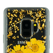 Real Flowers Yellow Samsung S9 - Bling Cases.com