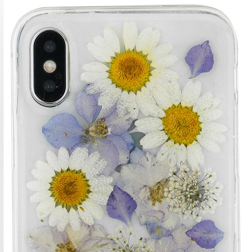 Real Flowers Purple Case Iphone 10/X/XS - Bling Cases.com