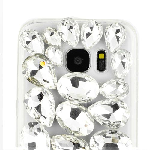 Handmade Silver Bling Case Samsung S7 Edge - Bling Cases.com