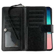 Detachable Black Wallet Samsung S10E - Bling Cases.com
