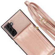 Crossbody Pouch Rose Gold Case Samsung S21