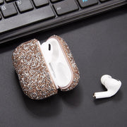 Bling Rose Gold AirPods Pro - Bling Cases.com