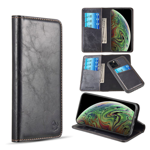Detachable Wallet Black Iphone 11 Pro - Bling Cases.com