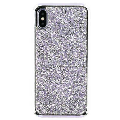 Hybrid Bling Purple Case Iphone 10/X/XS - Bling Cases.com