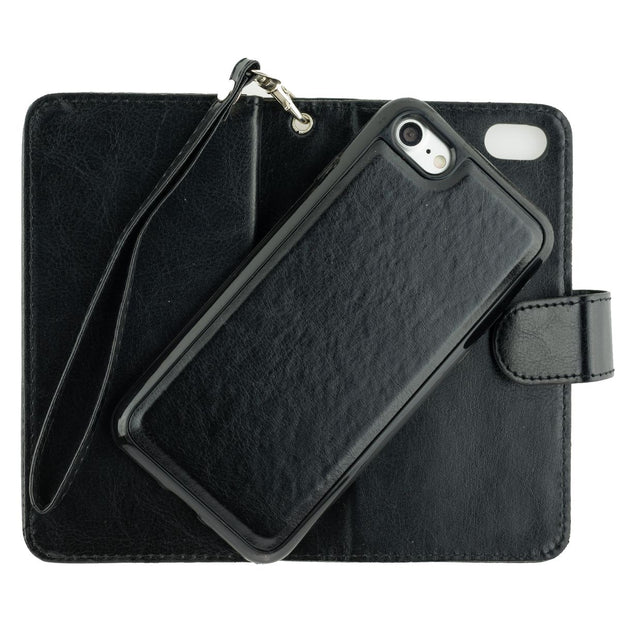 Handmade Bling Black Wallet Iphone 7/8 - Bling Cases.com