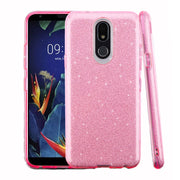 Glitter Light Pink Case LG K40 - Bling Cases.com