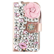Handmade Flower Bling Detachable Wallet Iphone 7/8 Plus - Bling Cases.com