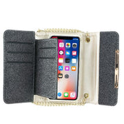 Detachable Purse Black Iphone XS MAX - Bling Cases.com