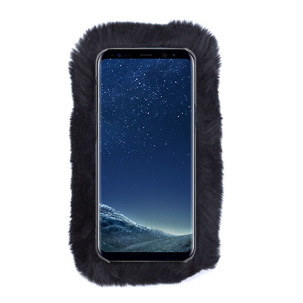 Fur Black Case Samsung S8 Plus - Bling Cases.com