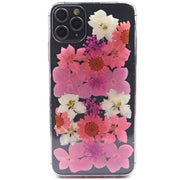Real Flowers Pink Case Iphone 11 Pro