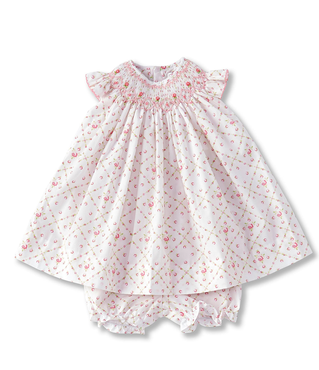 Petit Rose Flutter Dress