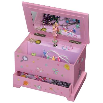 Kerri Musical Ballerina Jewelry Box