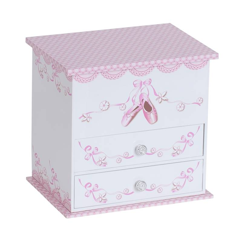 Angel 2 Drawer Ballerina Box