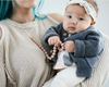 Ariana Blush Teething Necklace