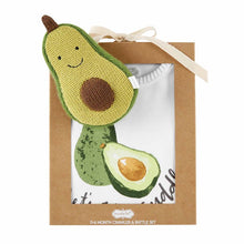 Load image into Gallery viewer, Avocado Rattle Crawler Set