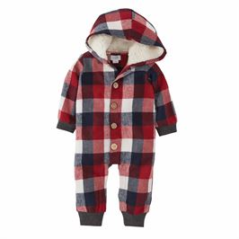 Buffalo Check Hooded 1 Piece