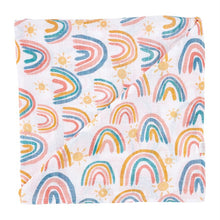 Load image into Gallery viewer, Rainbow Muslin Swaddle