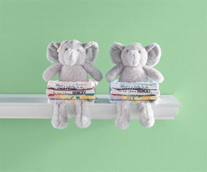 Blue Elephant Plush Book