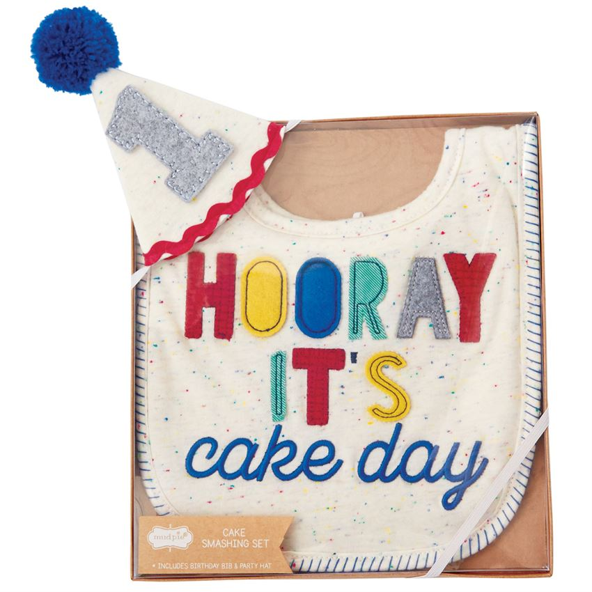 Boy Cake Smashing Set Mudpie