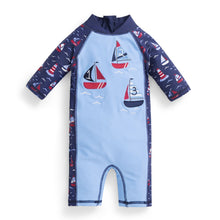 Load image into Gallery viewer, Boat 1PC Sunsuit