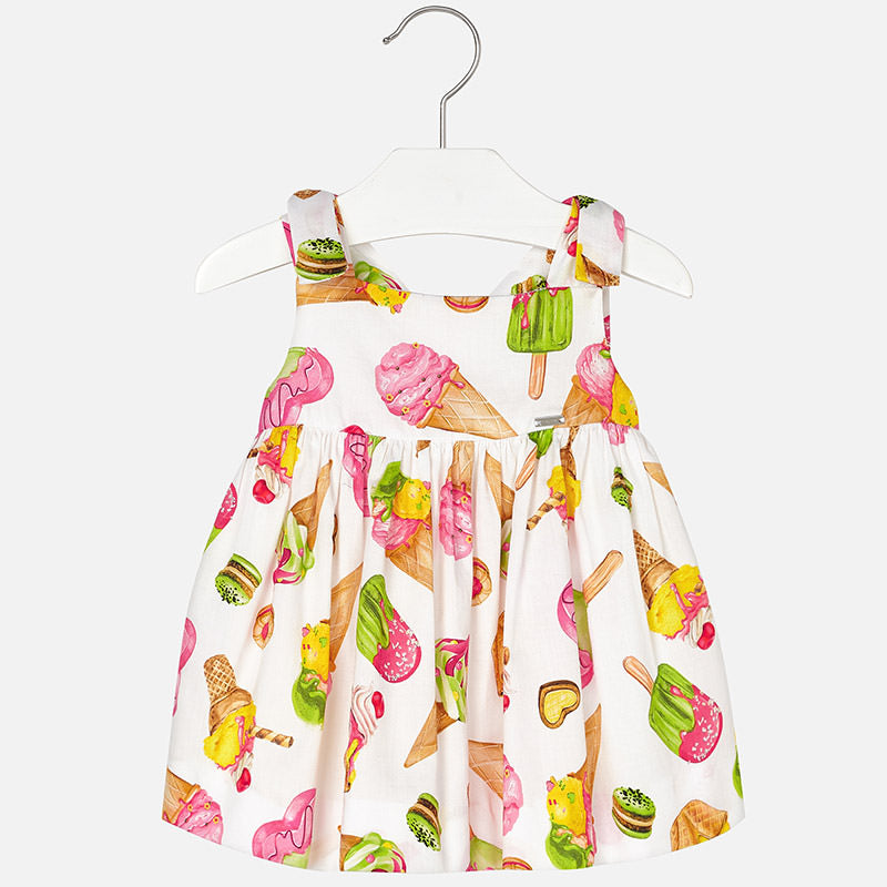 Ice Cream Mayoral Satin Dress
