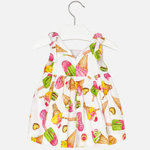 Load image into Gallery viewer, Ice Cream Mayoral Satin Dress