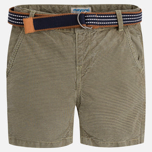 Striped Shorts w/belt