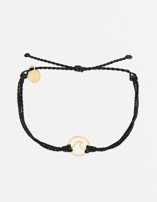 Black Gold Wave Pura Vida Bracelet