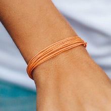 Load image into Gallery viewer, Peach Bright Solid Bracelet