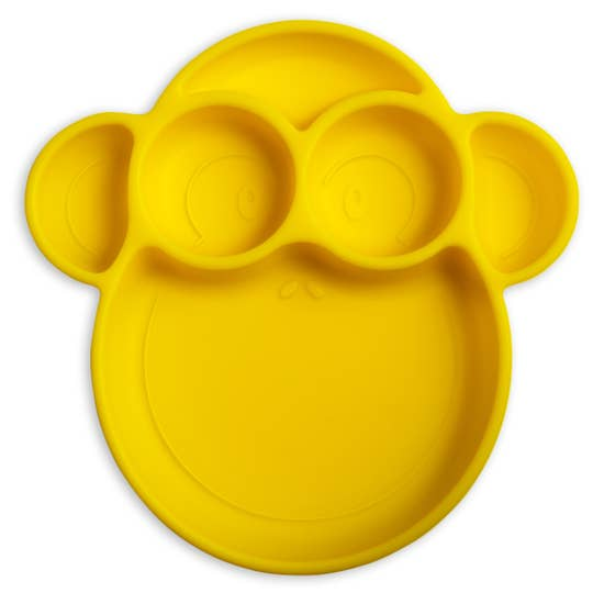 Monkey Yellow Suction Plate