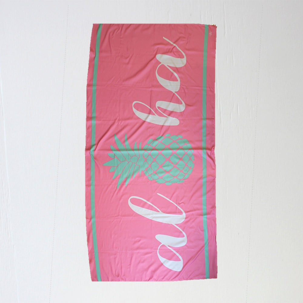 Aloha Giant Beach Towel