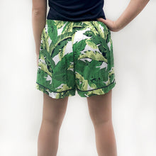 Load image into Gallery viewer, Maui Palm Sleep Shorts