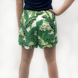 Maui Palm Sleep Shorts