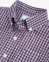 True Red Bluefin Intercoastal Check Sportshirt