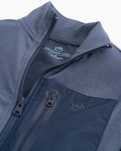 Load image into Gallery viewer, Heather Seven Seas Blue Foam Performance FullZip