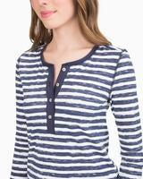 Lettie Sleep Top Nautical Navy