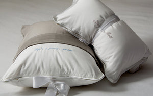 Petite White Pillow Case