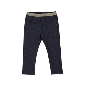Navy Mini Girl Leggings