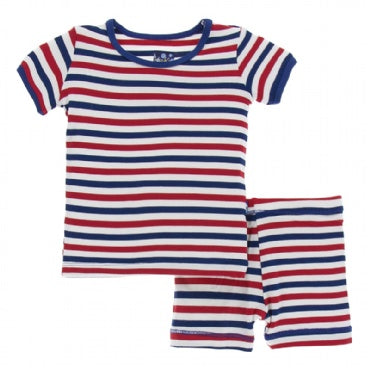 USA Stripe Pajama Set