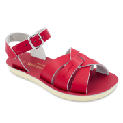 Red Swimmer Sun San Salt Water Sandal
