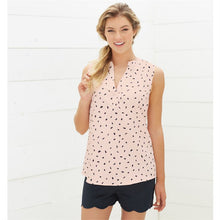 Load image into Gallery viewer, Rue Tank Top Blush Dot