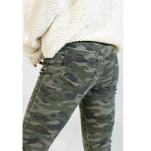 Load image into Gallery viewer, Rory Green Camo Jeans