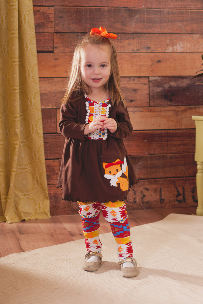Fox Tunic with leggings