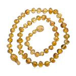 Load image into Gallery viewer, Honey Polished Amber Necklace