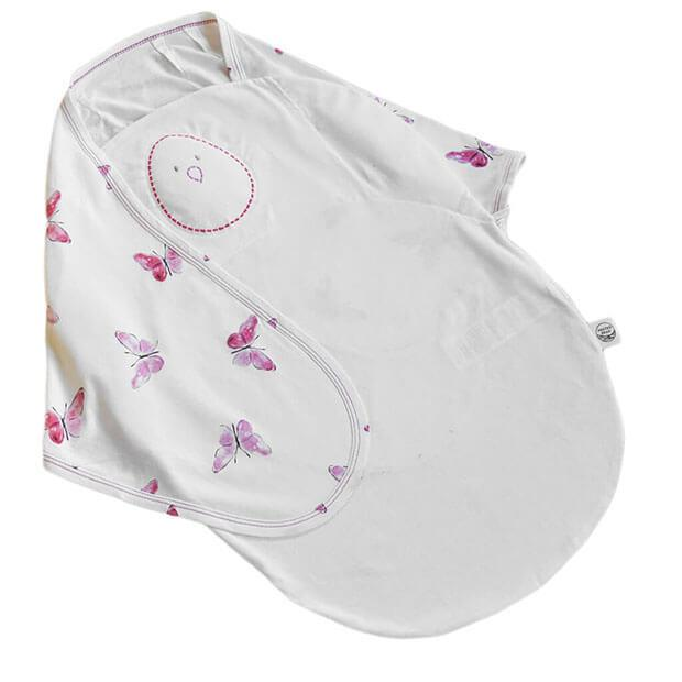 Blushing Butterflies Zen Premier Swaddle