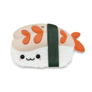 Sushi Roll Silicone Single Teether