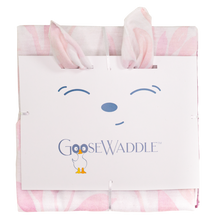 Load image into Gallery viewer, Poppy Elephant & Leaves GoosWaddle 2PK Blankets